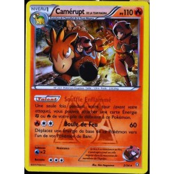 carte Pokémon 2/34 Camérupt Team Magma 110 PV Double Danger NEUF FR