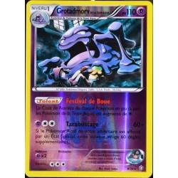 carte Pokémon 8/34 Grotadmorv Team Plasma 110 PV - REVERSE Double Danger NEUF FR