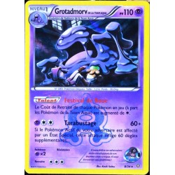 carte Pokémon 8/34 Grotadmorv Team Plasma 110 PV Double Danger NEUF FR