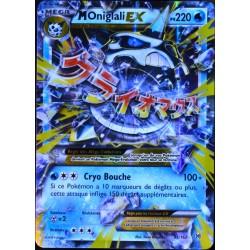 carte Pokémon 35/162 Méga Oniglali EX 220 PV XY - Impulsion Turbo NEUF FR