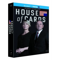 House of Cards - Intégrale saisons 1-2-3 [Blu-ray + Copie digitale]
