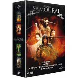 4 films de samouraï : 47 Ronin + Hero + Le secret des poignards volants + The Assassins