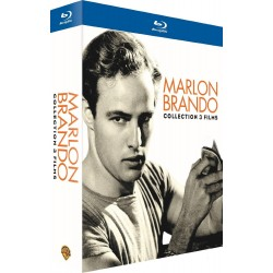 Marlon Brando : Reflets dans un oeil d'or + Un tramway nommé désir + Les révoltés du Bounty [Blu-ray]