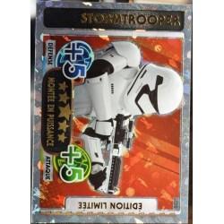 carte TOPPS STAR WARS 228/224 LEDB Stormtrooper Ed. Limitée Force Attax NEUF FR