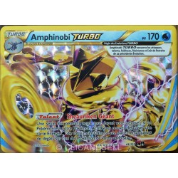 carte Pokémon 41/122 Amphinobi Turbo 170 PV XY - Rupture Turbo NEUF FR