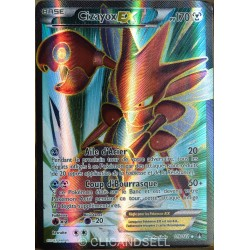 carte Pokémon 119/122 Cizayox Ex 170 PV - ULTRA RARE - FULL ART XY - Rupture Turbo NEUF FR