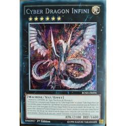 carte YU-GI-OH BOSH-FR094 Cyber Dragon Infini NEUF FR