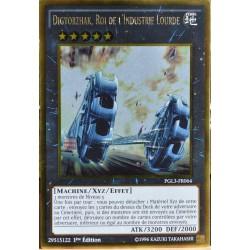 carte YU-GI-OH PGL3-FR064 Digvorzhak, Roi de l'Industrie Lourde NEUF FR