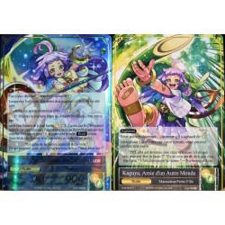 carte Force Of Will TMS-003 Kaguya, Amie d'un Autre Monde & Kaguya, la Sauveuse du Clair de Lune NEUF FR