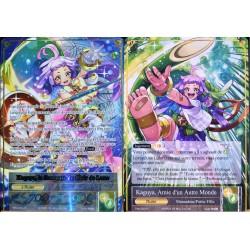 carte Force Of Will TMS-003-FU Kaguya, Amie d'un Autre Monde & Kaguya, la Sauveuse du Clair de Lune NEUF FR
