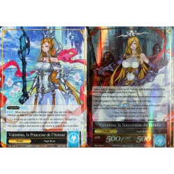 carte Force Of Will SKL-048 Valentina, La Princesse De L'amour & Valentina, La Souveraine Du Paradis NEUF FR