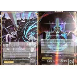 carte Force Of Will SKL-087 Machina, Le Seigneur Des Machines & Machina, L'empereur Mécanique NEUF FR