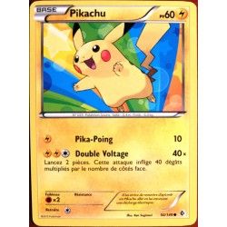 carte POKEMON Frontières Franchies - PIKACHU 60 PV - 50/149