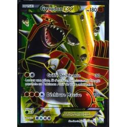 carte Pokémon 150/160 Groudon EX 180 PV FULL ART Série XY - Primo Choc NEUF FR