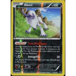 carte Pokémon 40/108 Absol 100 PV - SUPER RARE REVERSE XY 6 Ciel Rugissant NEUF FR