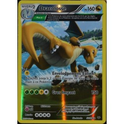carte Pokémon 52/108 Dracolosse 160 PV - SUPER RARE REVERSE XY 6 Ciel Rugissant NEUF FR