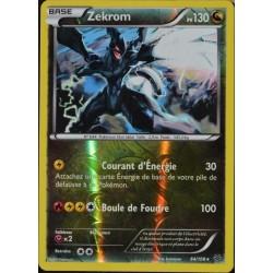 carte Pokémon 64/108 Zekrom 130 PV - SUPER RARE REVERSE XY 6 Ciel Rugissant NEUF FR
