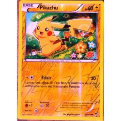 carte Pokémon 27/111 Pikachu 60 PV - REVERSE XY03 XY Poings Furieux NEUF FR