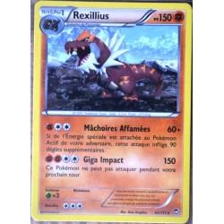 carte Pokémon 62/111 Rexillius 150 PV RARE XY03 XY Poings Furieux NEUF FR