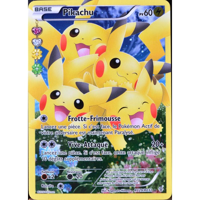 Carte pok mon rc29 pikachu 60 pv ultra rare full art - Carte pokemon a imprimer gratuitement ex ...