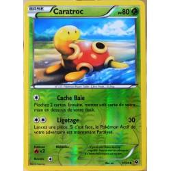 carte Pokémon 1/124 Caractroc 80 PV - REVERSE XY - Impact des Destins NEUF FR