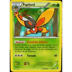 carte Pokémon 4/124 Papilord 90 PV XY - Impact des Destins NEUF FR