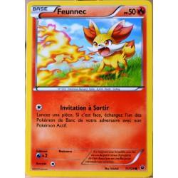 carte Pokémon 11/124 Feunnec 50 PV XY - Impact des Destins NEUF FR