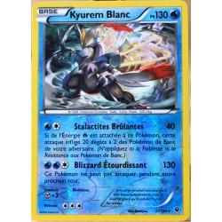 carte Pokémon 21/124 Kyurem Blanc 130 PV - HOLO REVERSE XY - Impact des Destins NEUF FR