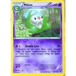 carte Pokémon 34/124 Méios 60 PV XY - Impact des Destins NEUF FR