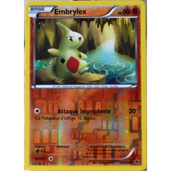 carte Pokémon 40/124 Embrylex 60 PV - REVERSE XY - Impact des Destins NEUF FR