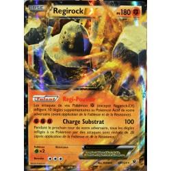 carte Pokémon 43/124 Regirock EX 180 PV - ULTRA RARE XY - Impact des Destins NEUF FR