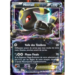 carte Pokémon 55/124 Noctali EX 170 PV - ULTRA RARE XY - Impact des Destins NEUF FR