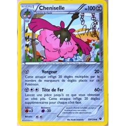carte Pokémon 59/124 Cheniselle 100 PV XY - Impact des Destins NEUF FR