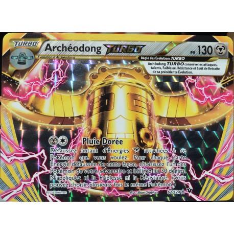 carte Pokémon 62/124 Archéodong TURBO 130 PV XY - Impact des Destins NEUF FR