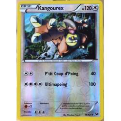 carte Pokémon 75/124 Kangourex 120 PV - REVERSE XY - Impact des Destins NEUF FR