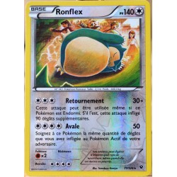 carte Pokémon 77/124 Ronflex 140 PV - REVERSE XY - Impact des Destins NEUF FR