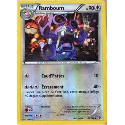 carte Pokémon 81/124 Ramboum 90 PV - REVERSE XY - Impact des Destins NEUF FR