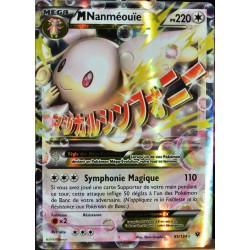 carte Pokémon 85/124 Mega Nanméouïe EX 220 PV - ULTRA RARE XY - Impact des Destins NEUF FR