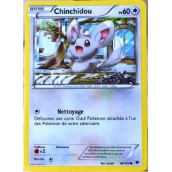 carte Pokémon 86/124 Chinchidou 60 PV XY - Impact des Destins NEUF FR