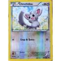 carte Pokémon 87/124 Chinchidou 50 PV - REVERSE XY - Impact des Destins NEUF FR