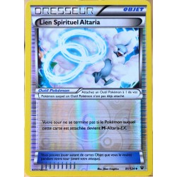 carte Pokémon 91/124 Lien Spirituel Altaria REVERSE XY - Impact des Destins NEUF FR