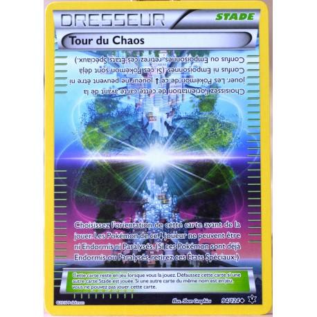 carte Pokémon 94/124 Tour du Chaos XY - Impact des Destins NEUF FR
