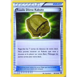 carte Pokémon 96/124 Fossile Dôme Kabuto XY - Impact des Destins NEUF FR