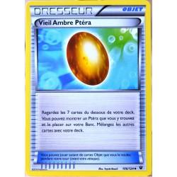 carte Pokémon 106/124 Vieil Ambre Ptéra XY - Impact des Destins NEUF FR