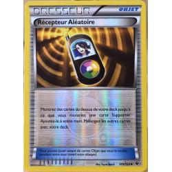 carte Pokémon 109/124 Récepteur Aléatoire REVERSE XY - Impact des Destins NEUF FR
