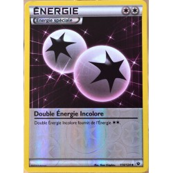 carte Pokémon 114/124 Double Energie Incolore REVERSE XY - Impact des Destins NEUF FR