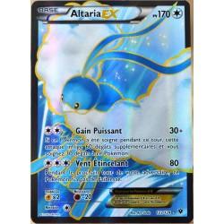 carte Pokémon 123/124 Altaria EX 170 PV - FULL ART XY - Impact des Destins NEUF FR