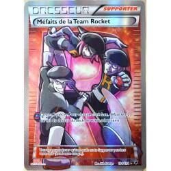 carte Pokémon 124/124 Méfaits de la Team Rocket - ULTRA RARE FULL ART XY - Impact des Destins NEUF FR