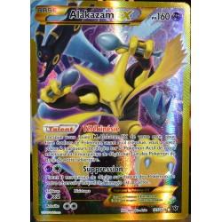 carte Pokémon 125/124 Alakazam EX 160 PV - SECRETE FULL ART XY - Impact des Destins NEUF FR
