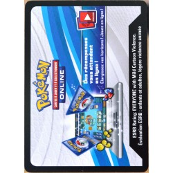JCC Pokémon Collection Bleu & Rouge - Dracaufeu-EX Codes (NEUF non utilisé)